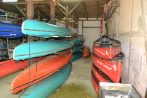 Bootsverleih am Wildpark Boote